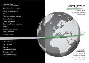 Brochure ANycon